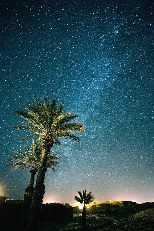 Etoiles Nuit Voyage Organisé Maroc