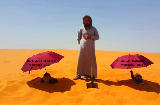 Les bienfaits du bain de sable de Merzouga