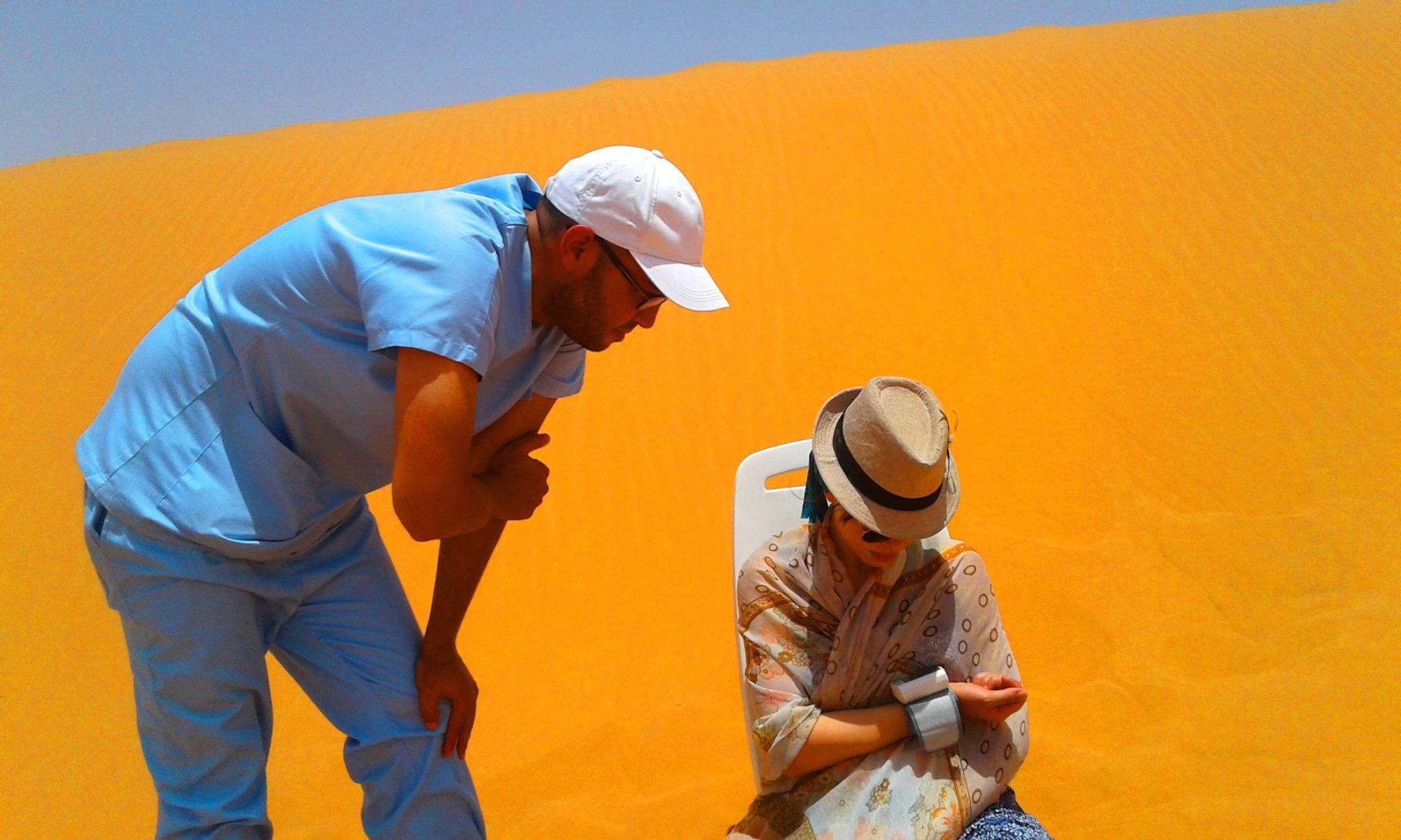 Accompagnement médical Bain de sable Merzouga