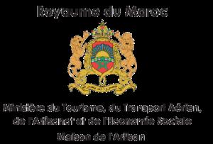 Agence de voyage organisé Maroc agréée - Ministère du Tourisme du Royaume du Maroc Logo